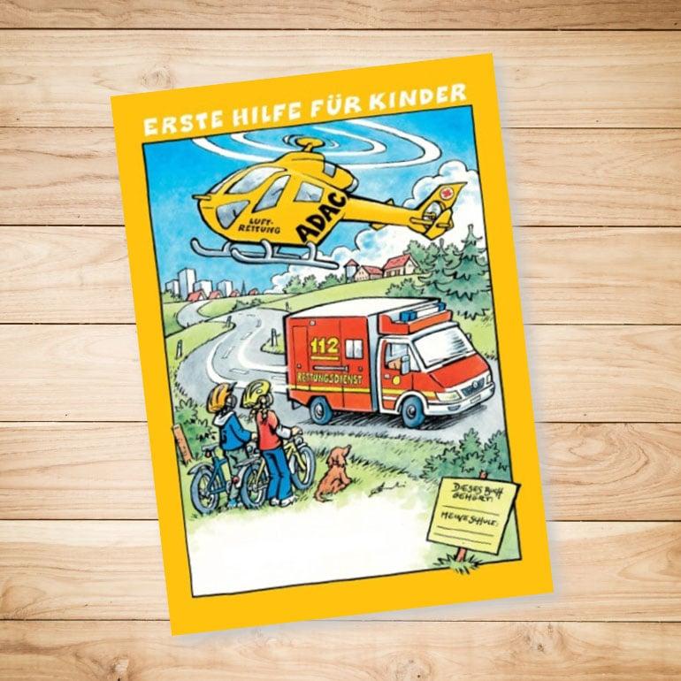 KFO Stelz | Erste Hilfe Arbeitsbuch für Kinder