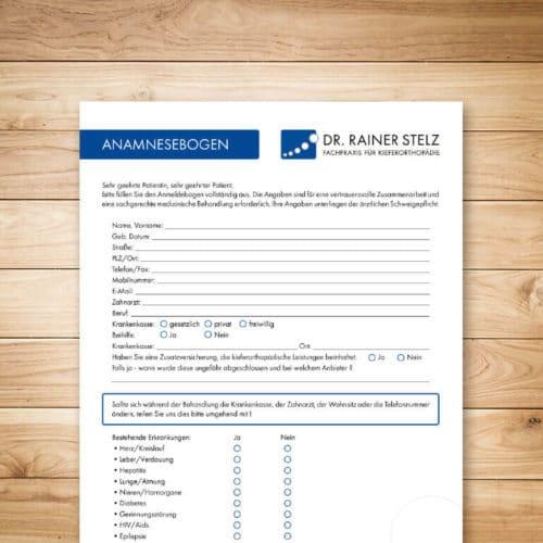 KFO Stelz | Dokument-Download Anamnesebogen Erwachsene