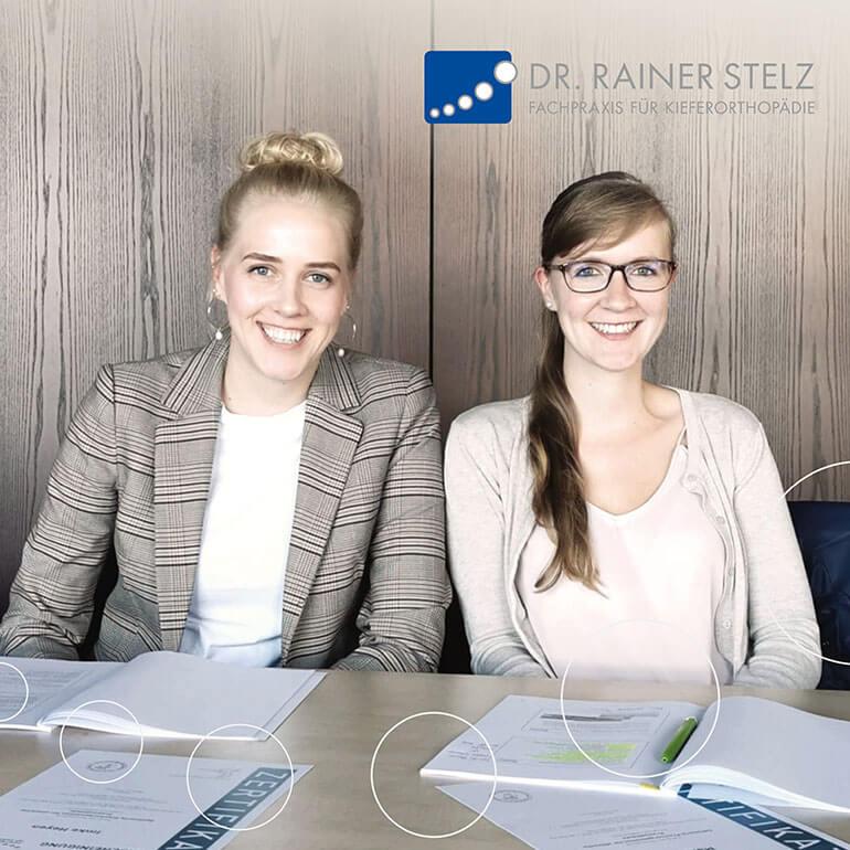 KFO Stelz | Fortbildungs-Zertifikat Frau Berndt und Frau Heyen