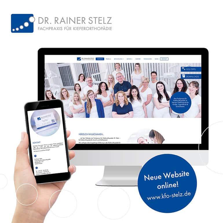 KFO Stelz | Post - Unsere neue Website